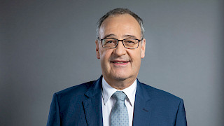 Interview with Federal Councillor Guy Parmelin